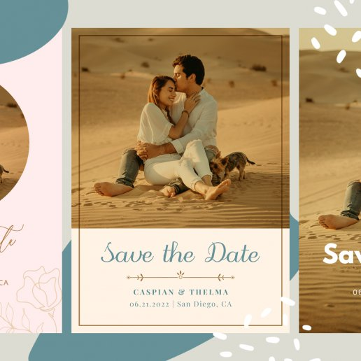 Save the date themes featured