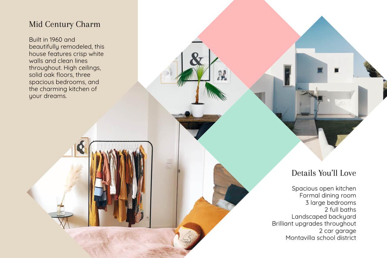 real estate flyer details