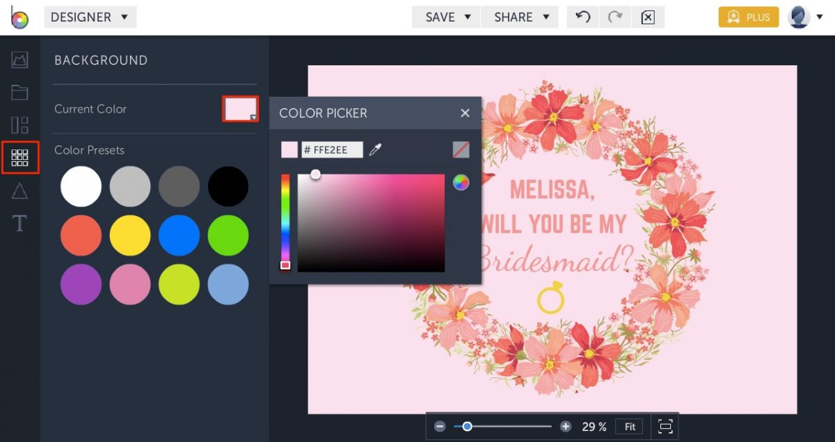 online card maker templates by BeFunky