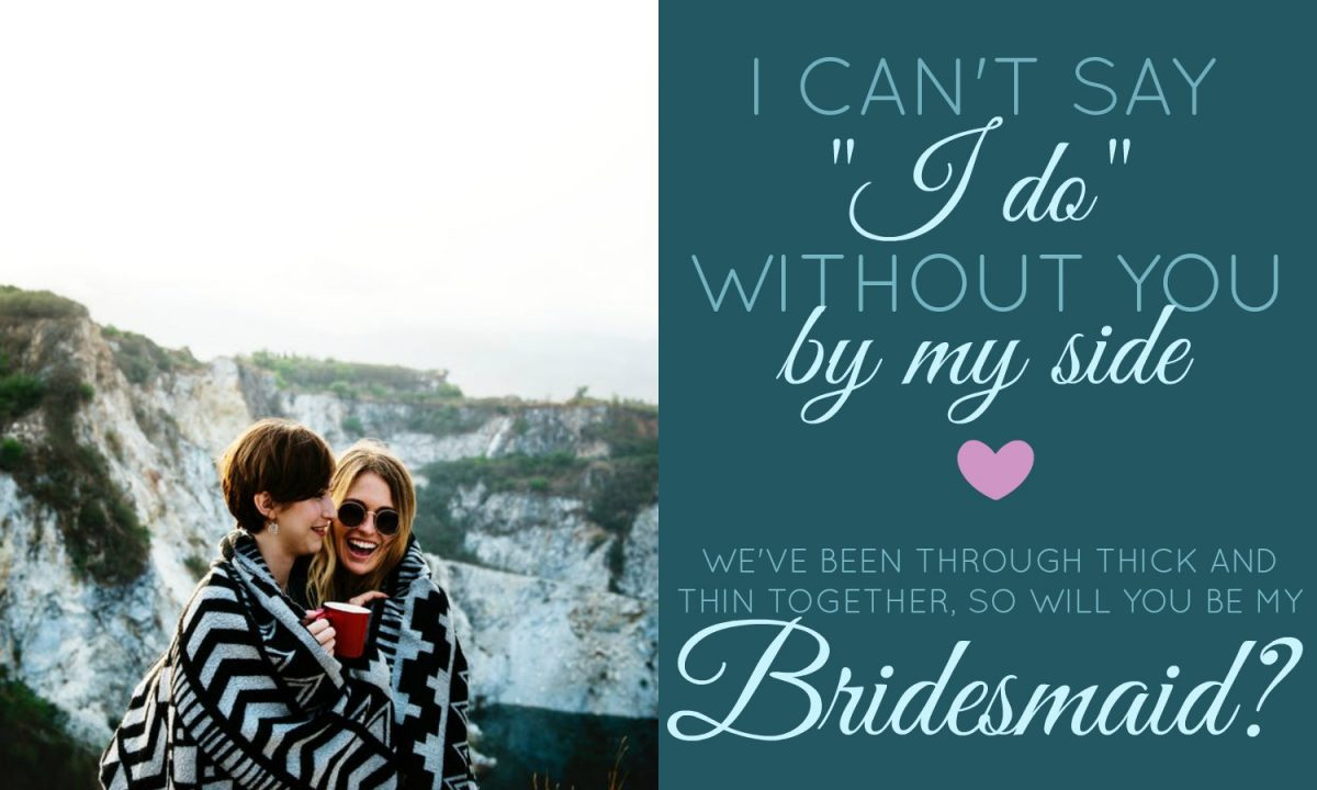 bridesmaid card templates by BeFunky