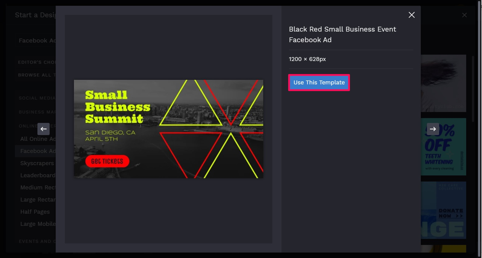 facebook ads template part two
