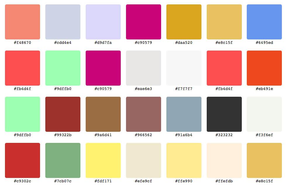 Online color hex BeFunky