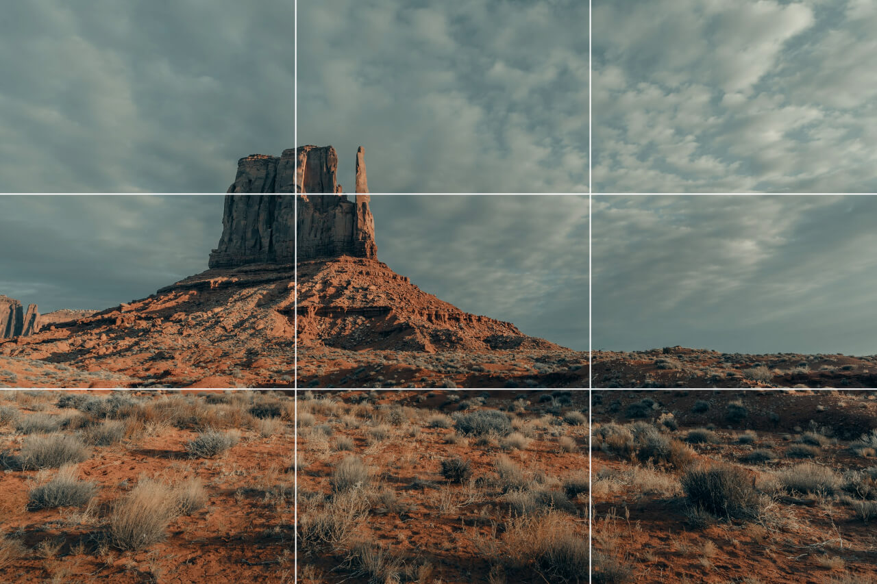 how to use rule of thirds in photography