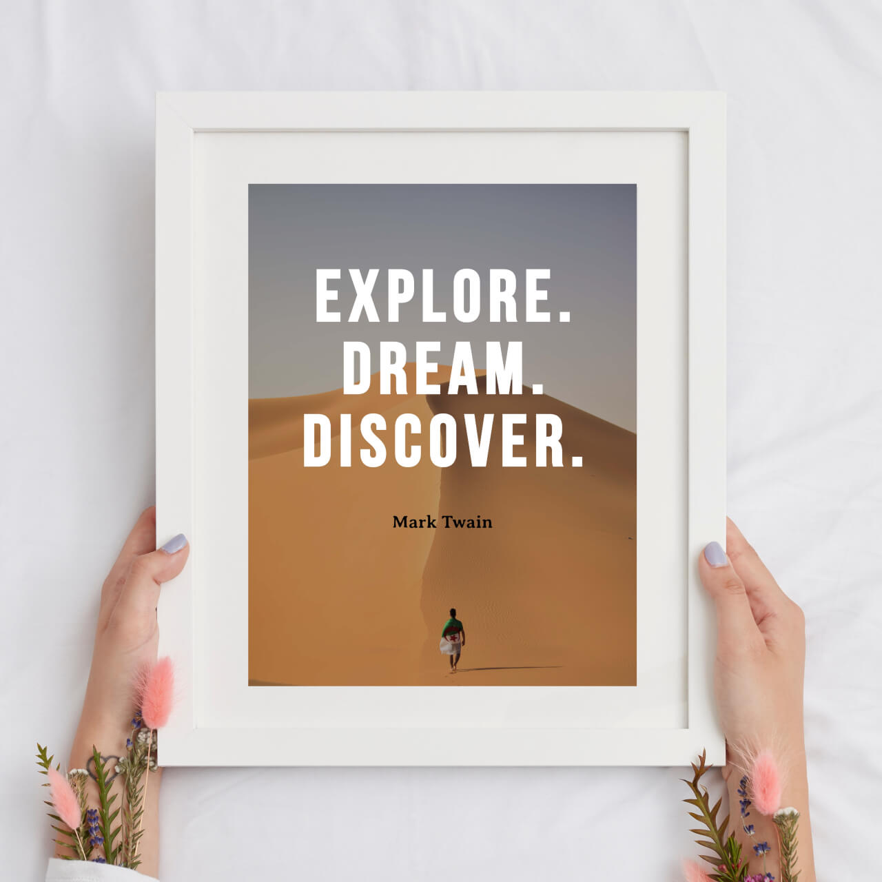 how to design quotes into wall art in BeFunky
