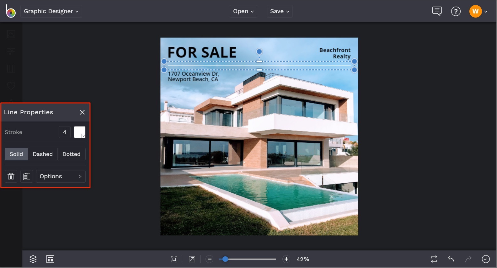 instagram templates for real estate by BeFunky