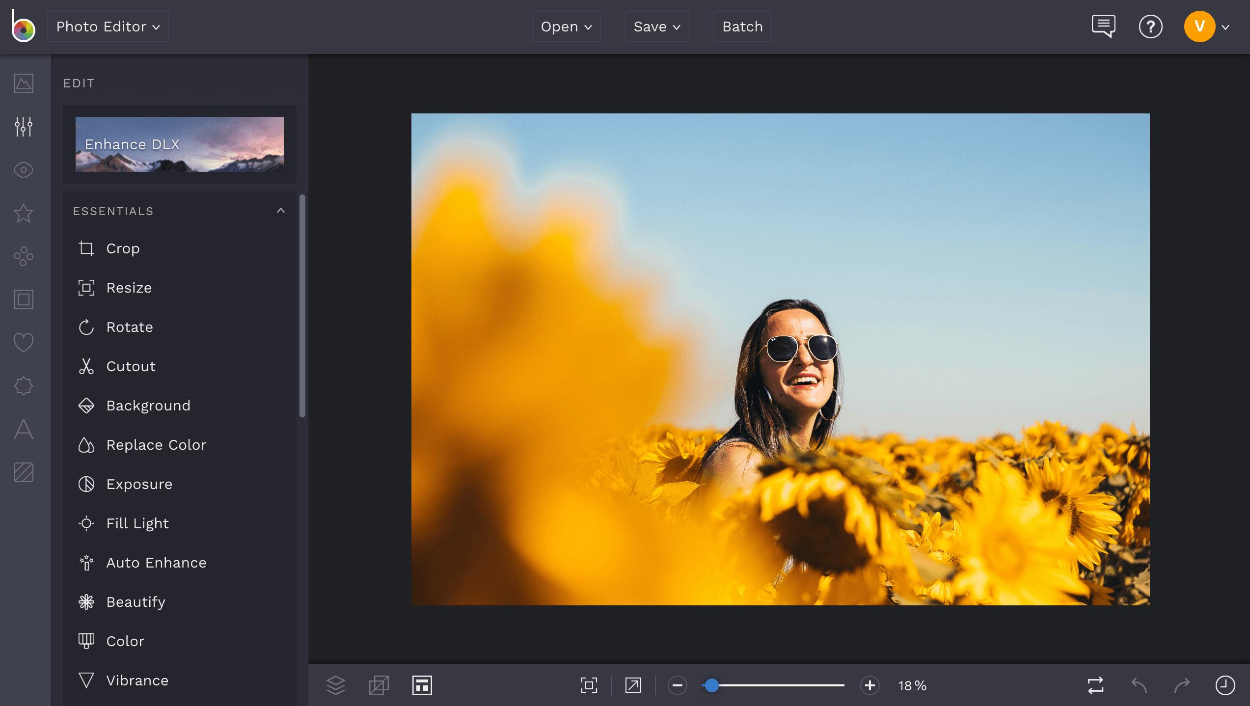 step one in a glitter edit