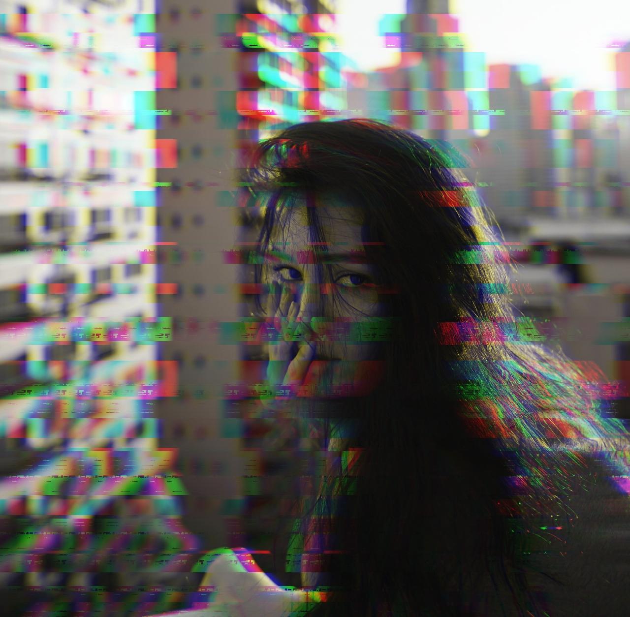 Distorted glitch Glitch effect BeFunky