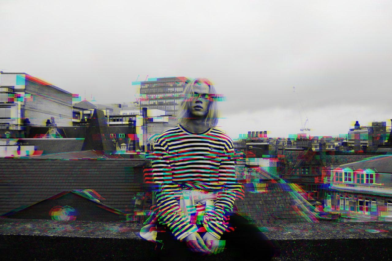 Glitch effect BeFunky final image