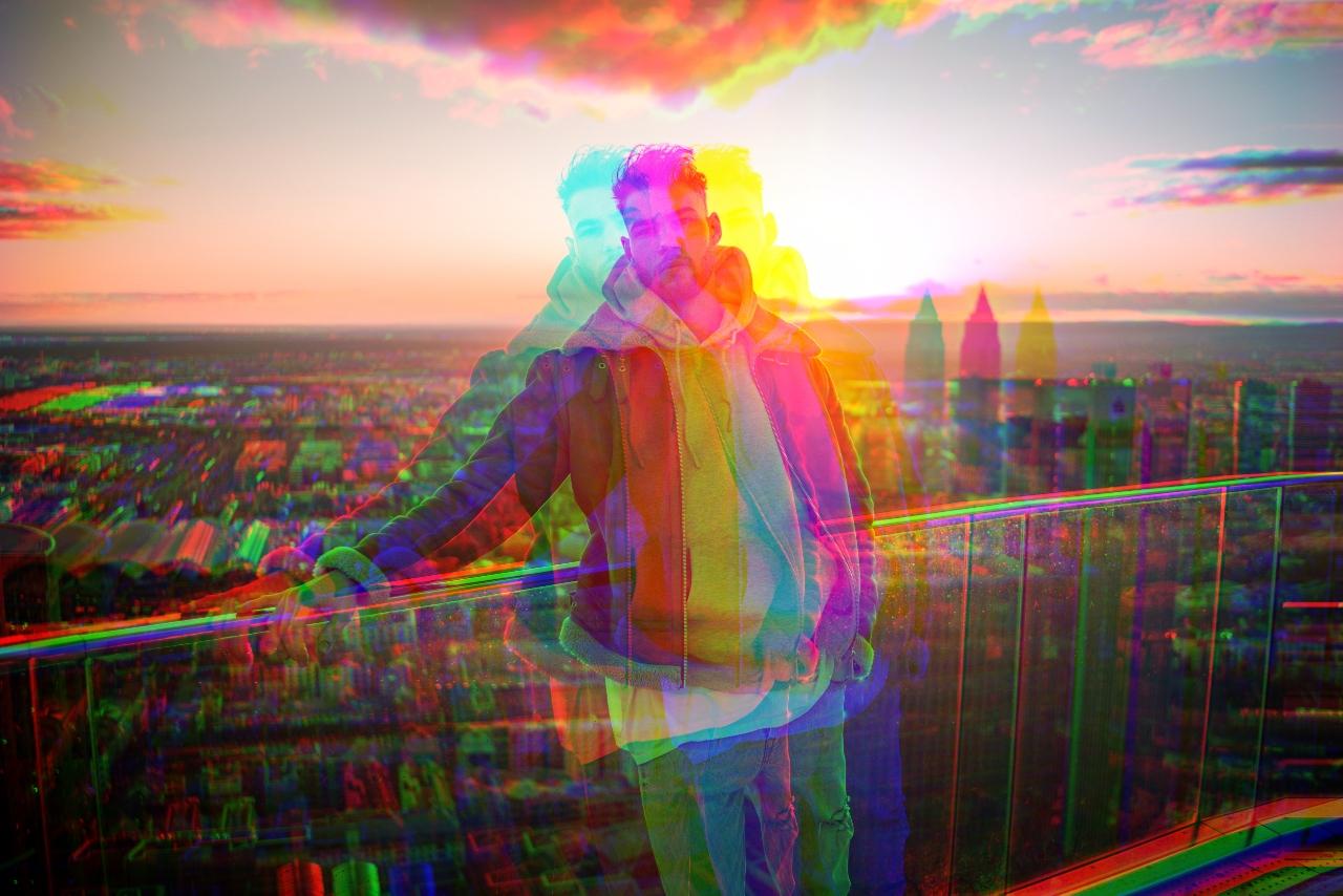 Segmented glitch Glitch effect BeFunky