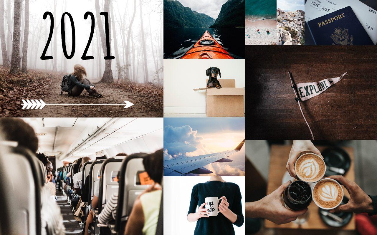 2021 vision board inspiration