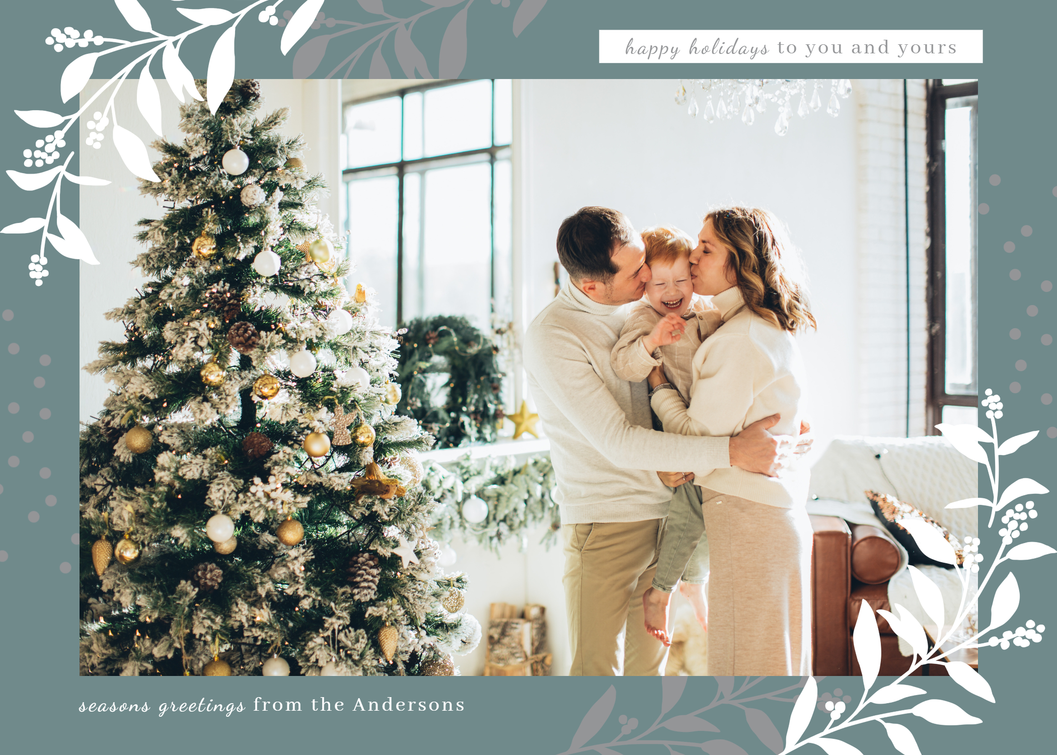 Winter holiday cards templates inspiration 2021 trending colors