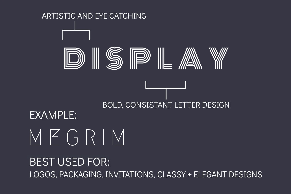display font ideas by BeFunky